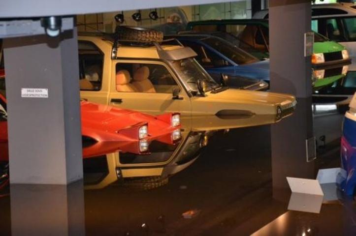 Matra museum flood