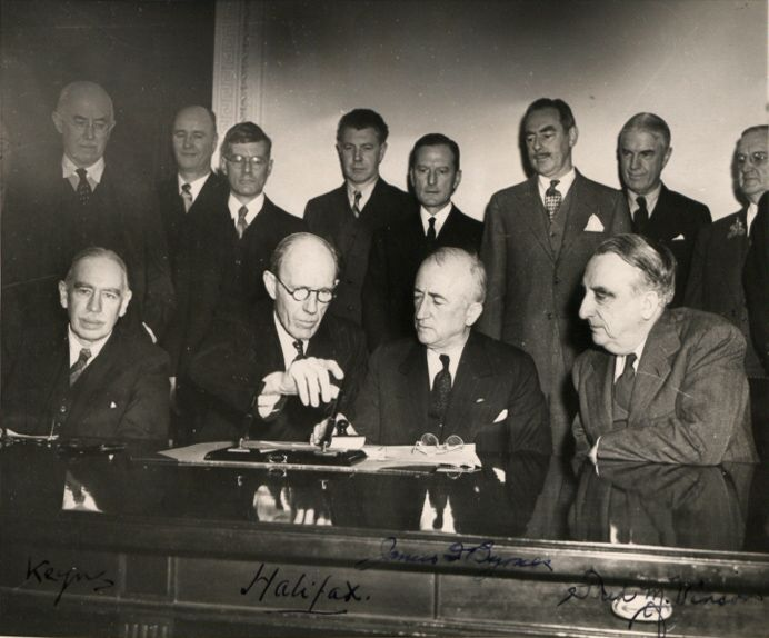 Signature_Anglo_American_loan_agreement_1945